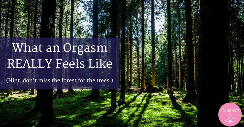 What Does an Orgasm Feel Like - What an Orgasm Feels Like | Passion by Kait